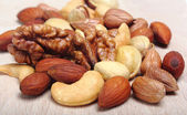 Assorted nuts — Foto de Stock