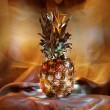 Luminous pineapple — Stock Photo