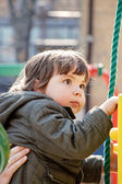 Child on a playground — Stock Photo
