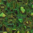Stock Photo: Abstract high tech circuitry