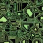 Abstract high tech circuitry — Stock Photo