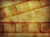 Grunge film strip texture — Stock Photo