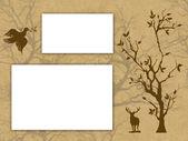 Greetings card — Stock Photo