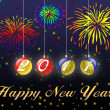 Happy New Year 2011 background — Stock Photo #4264148