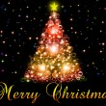 Merry Christmas illustration — Stock Photo #4375014