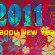2011 Happy New Year illustration — Stock Photo #4402724