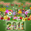 2011 Happy New Year illustration — Stock Photo #4402739