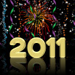 2011 Happy New Year illustration — Stock Photo #4404702