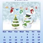 December month 2011 calendar — Stock Photo #4478328