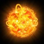 Solar explosion — Stock Photo #4916548