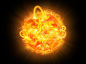 Solar explosion — Stock Photo