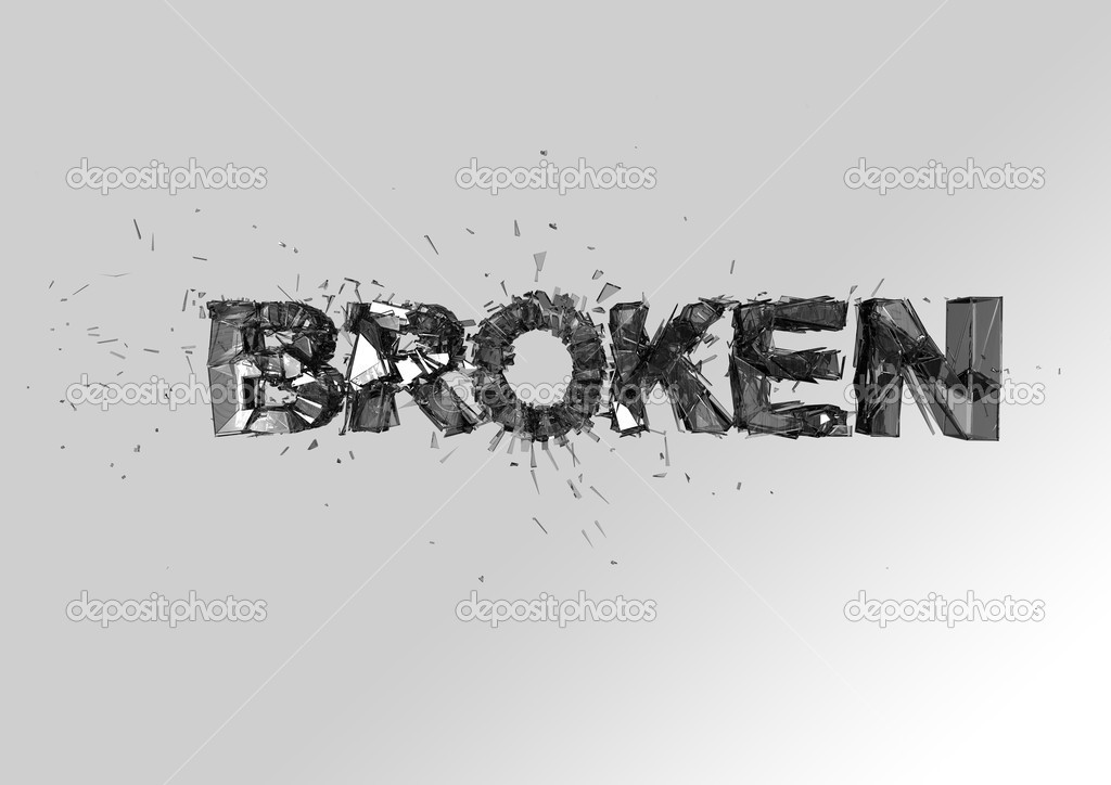 Expression For Broken Word