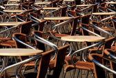 Tables et chaises — Photo