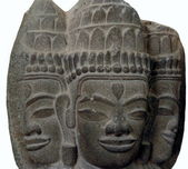Three hindu gods — Foto de Stock
