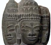 Three hindu gods — Stock fotografie