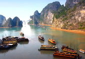 Ha Long Bay, panoramic view — Stock Photo