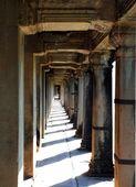 古代的柱廊 — 图库照片