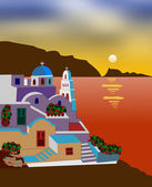 Greek island — Stock Photo