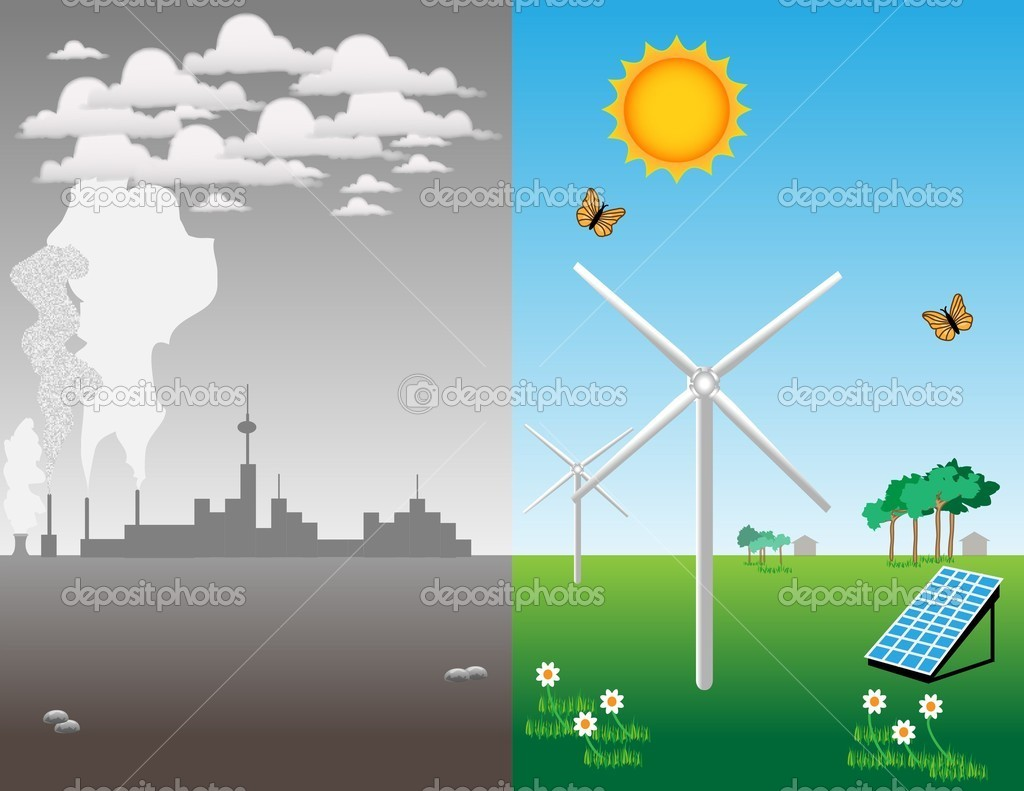 Renewable energy — Stock Photo © meletver #4287593
