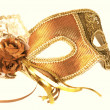 Fancy-dress ball mask — Stock Photo #4385483