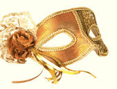 Fancy-dress ball mask — Stock Photo