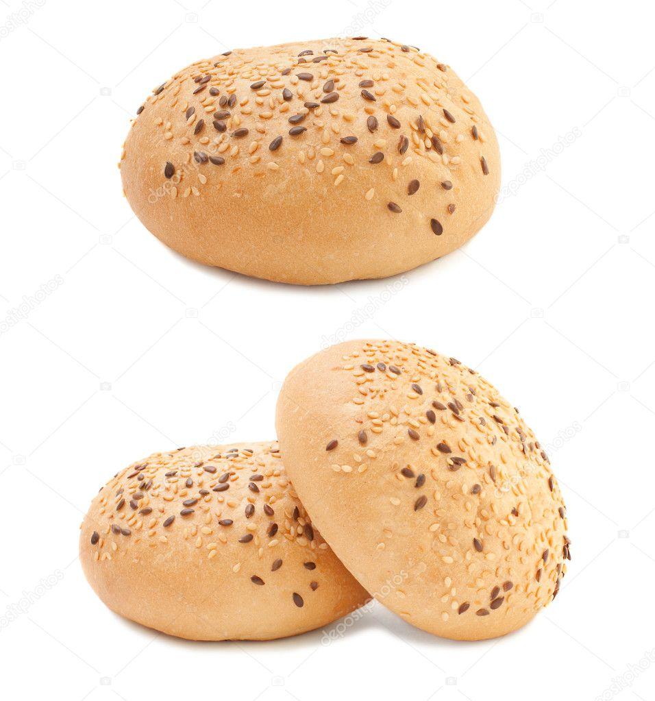 Sesame burger buns — Stock Photo © Hazyar #4556031