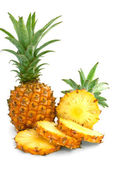 Mini pineapples — Stock Photo