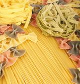 Italian pasta collection — Stock Photo