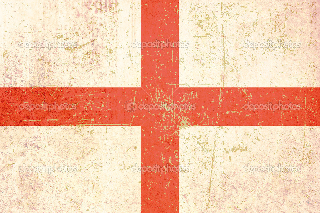 Grunge flag of england  Stock Photo #4218399