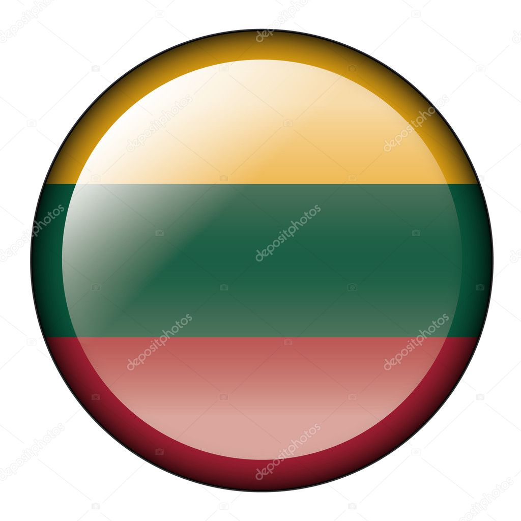 Glossy button — Stock Vector #4256403