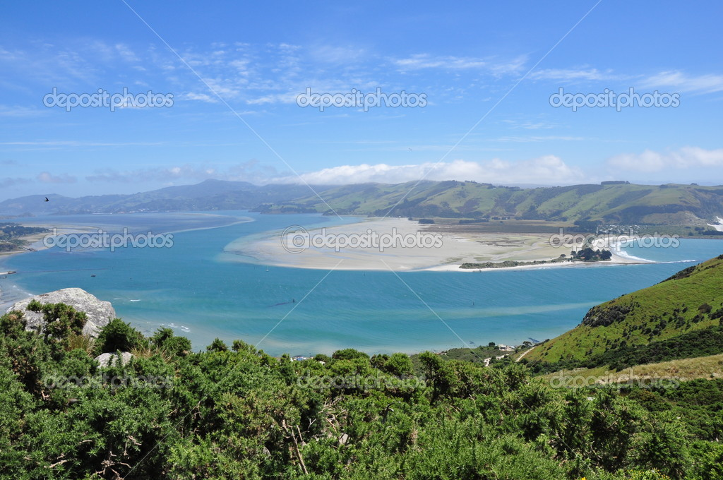 New Zealand landscape on Otago peninsula — Stock Photo #4901016