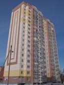 New panel building — Stock Photo