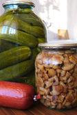 Homemade marinade food — Stock Photo