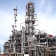 Stock Photo: Oil refining factory