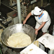 Stock Photo: Dough manufacture