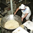 Dough manufacture — Stock Photo