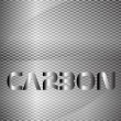 Carbon background — Stok Vektör