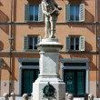 Statue of Luigi Galvani — Stockfoto