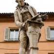 Stock Photo: Statue of Luigi Galvani