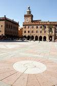 马焦雷广场、 博洛尼亚 — 图库照片