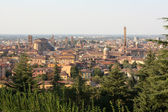 View over Bologna — Stockfoto