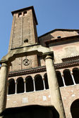 Tower of San Stefano church — Stock Photo