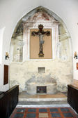 Altar from San Stefano church — Stock Photo