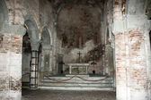 Altar in Santo Stefano church — Stock Photo