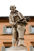 Statue of Luigi Galvani — Stock Photo