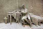 装飾的な彫刻 — ストック写真
