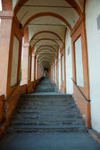 Archway to San Luca sanctuary — Stock Photo