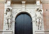Bella porta — Foto Stock