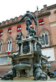 Neptune fountain — Stock fotografie