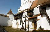 Medieval construction — Stockfoto